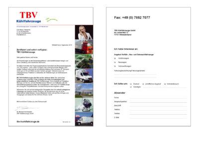 Dialogmarketing: Selfmailer, Newsletter, personalisierte Postkarten, Mailings, ...
