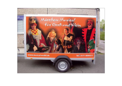 Rollende Werbung (LKW, PKW, Bus, Bahn)