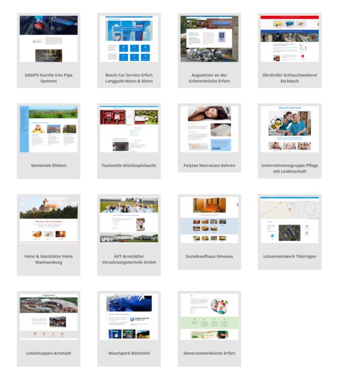Homepage Internetseiten Webpräsenz ≡ Schneider.media