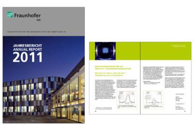 schneider.media Grafikdesign IOF Geschäftsbericht