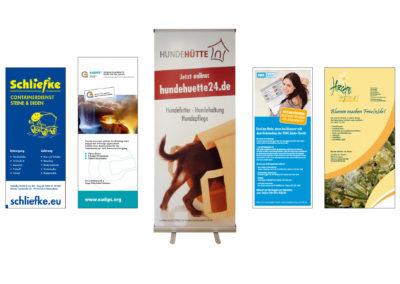 Mobiles Marketing, transportable Werbung vor Ort