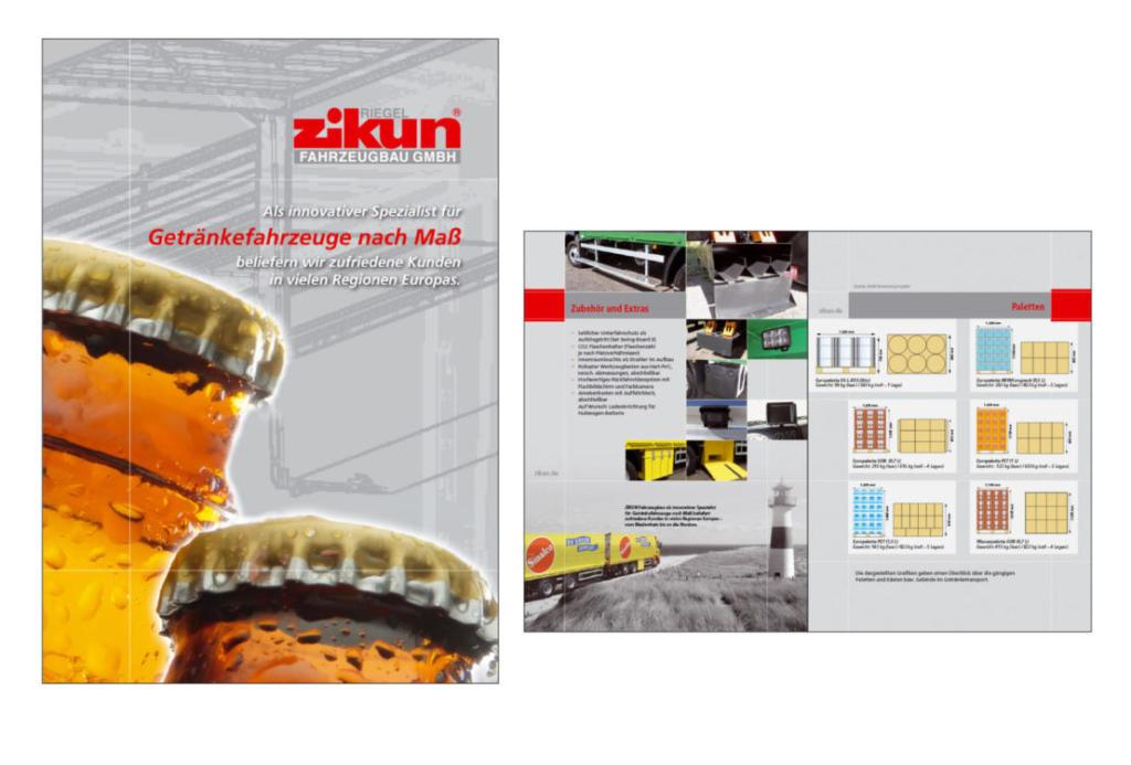 schneider.media Grafikdesign Produktkatalog Getränkefahrzeuge