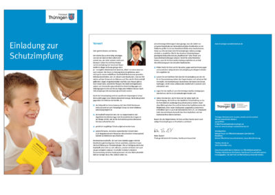 schneider.media Grafikdesign Faltblatt