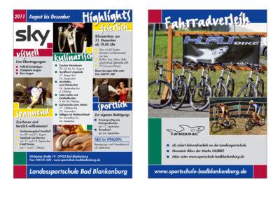 Faltblätter, Flyer