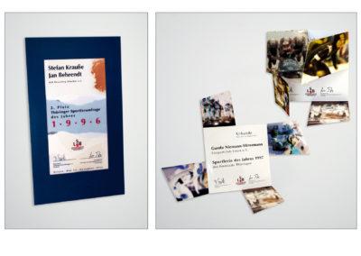 Urkunden für Sport & Ausbildung