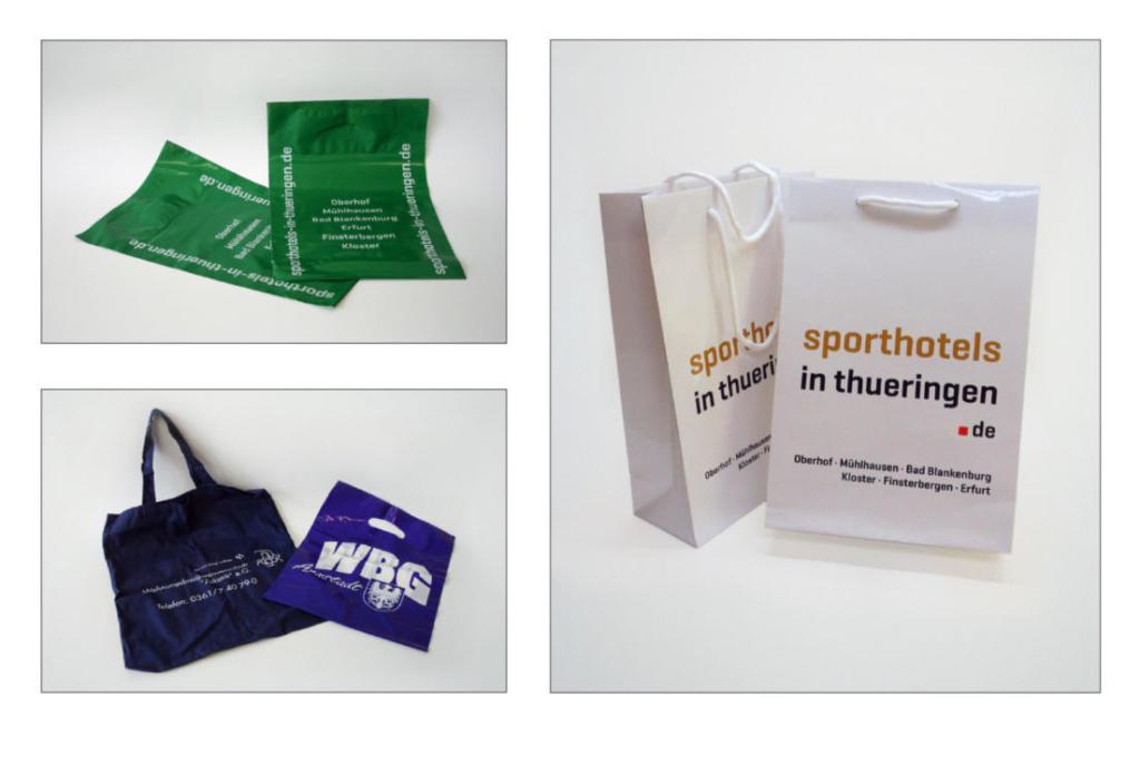 schneider.media Werbeartikel Geschenktüten Baumwolltaschen