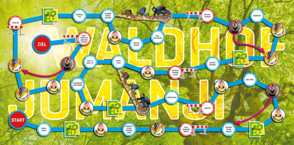Jumanji 2017 ≡ Produktdesign eines XXL-Spiels