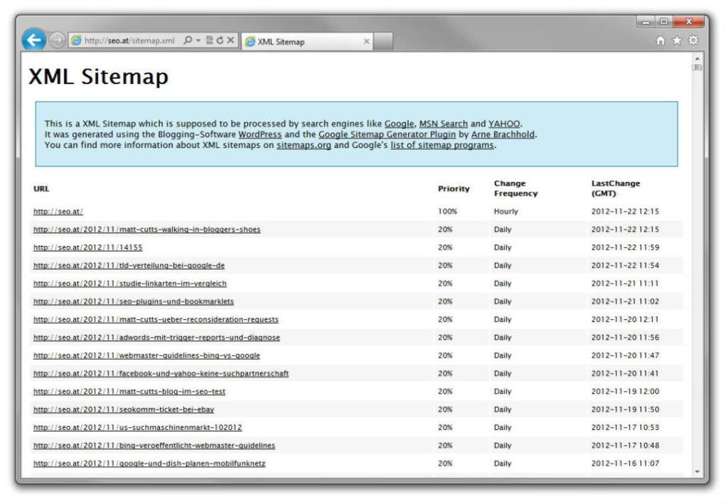 schneider.media SEO XML Sitemap