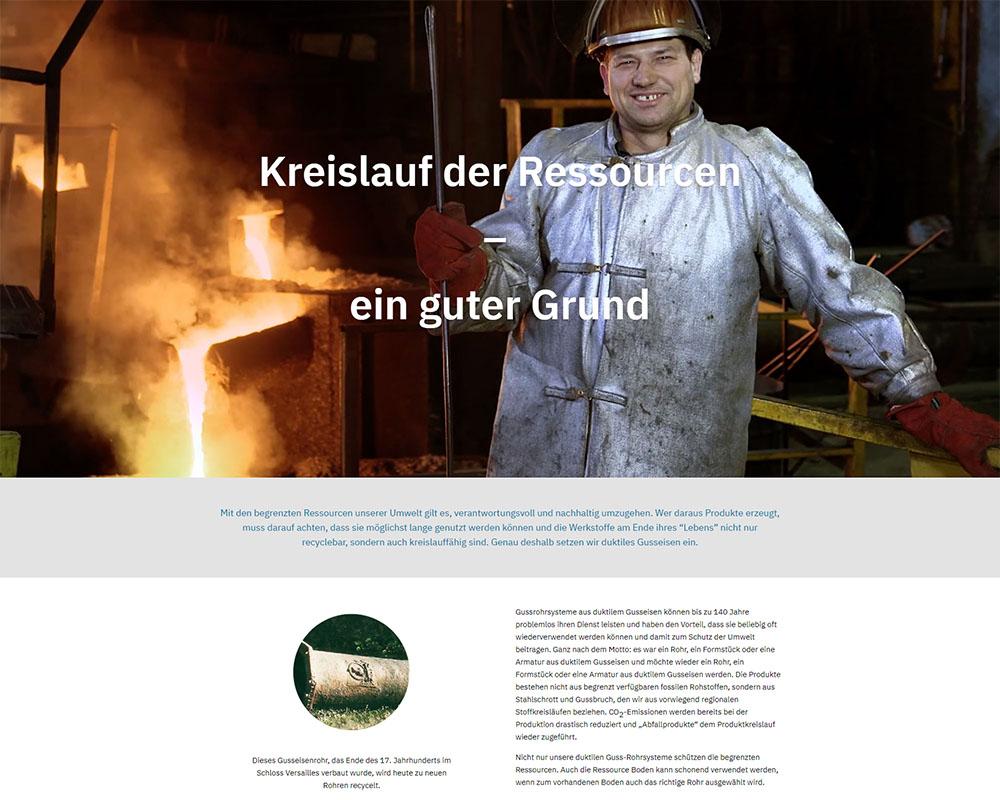 Webdesign Homepage Webpräsenz EADIPS FGR